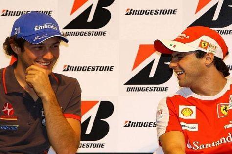 Bruno Senna glaubt an seinen Landsmann Felipe Massa und dessen Talent