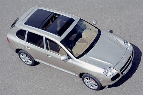 Porsche Cayenne: Wassereinbruch