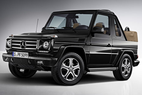 mercedes benz g klasse cabrio final edition. Black Bedroom Furniture Sets. Home Design Ideas