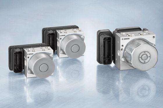 Stabilitätskontrolle für Motorräder von Bosch und KTM