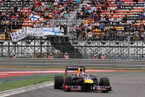 Sebastian Vettel marschiert weiter in Richtung vierter WM-Titel in Folge