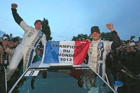 Sebastien Ogier und Julien Ingrassia sind Rallye-Weltmeister 2013