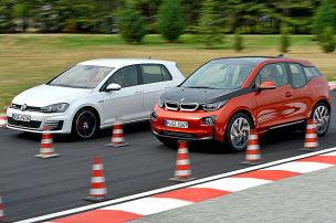 BMW i3 schlägt VW Golf