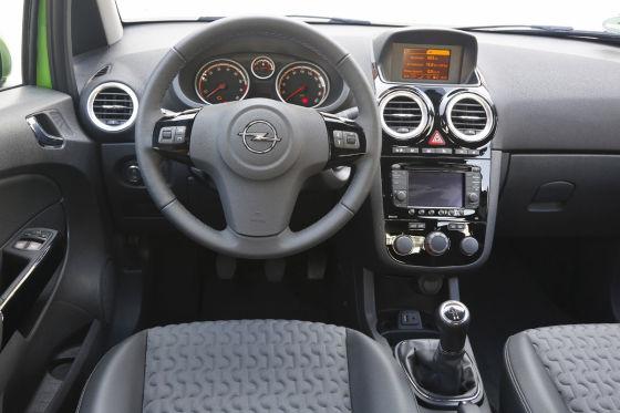 Opel Corsa: Innenraum