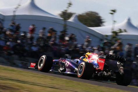 Sebastian Vettel bot den japanischen Fans noch nicht seine ganze Klasse