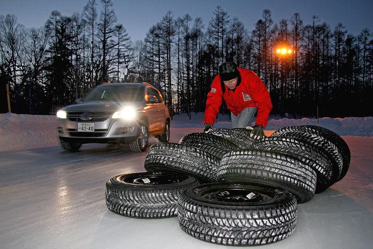 AUTO BILD testet Winterreifen für Allradler