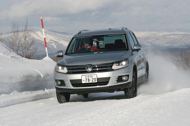 Winterreifen-Test: Handling auf Schnee