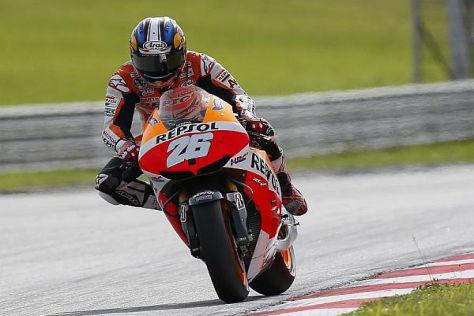 Dani Pedrosa fuhr in Sepang ungefährdet zum Sieg in der MotoGP