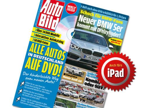 Titel Auto Bild 42-2013 iPad