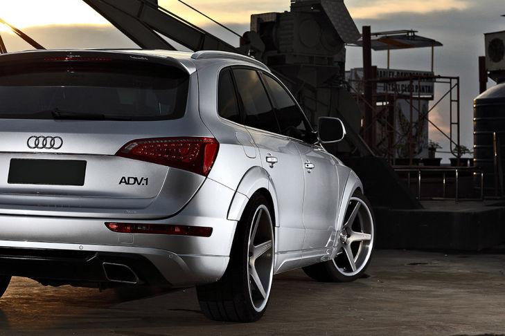 Audi Q5 auf ADV.1 Felgen, Modell ADV5DC