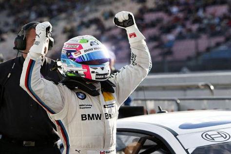 Bruno Spengler schließt die Saison 2013 mit einer Pole-Position ab