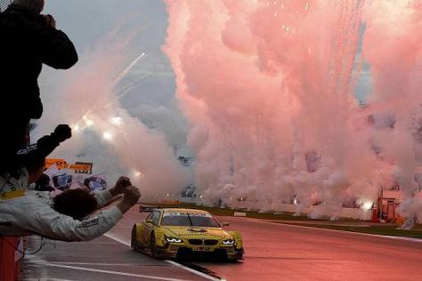 Geschafft: Timo Glock darf sich seit Sonntag DTM-Sieger nennen