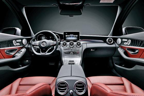 Mercedes C-Klasse (2014) Innenraum