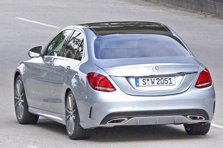 Mercedes C-Klasse BR205 (2014): Heckansicht