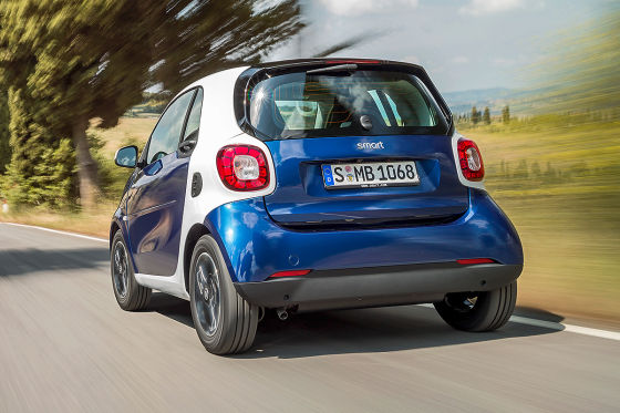 Smart forfour Seitenansicht (Illustration)