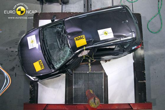 Suzuki SX4 Crash Frontal
