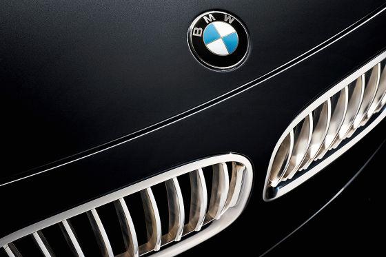 BMW Individual 760Li Sterling versilberte Niere