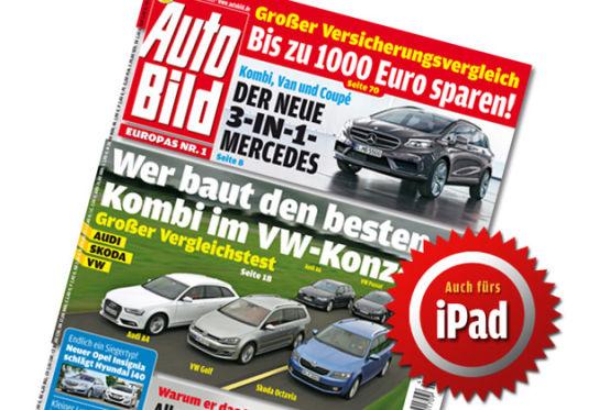 Cover AUTO BILD 43/2013