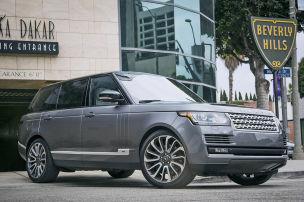 Range Rover gestreckt