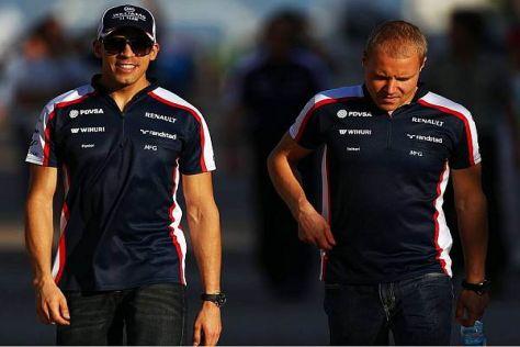 Maldonado und Bottas stiefeln zuversichtlich in die Dämmerung