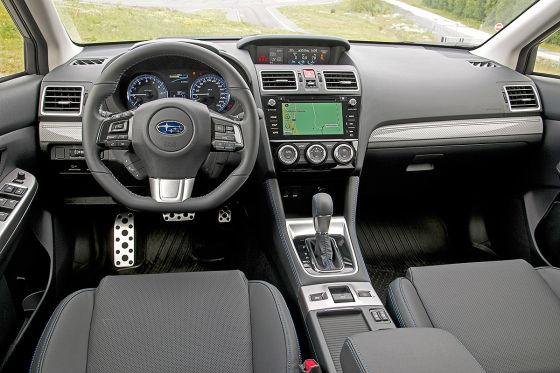 Update für den Subaru Levorg