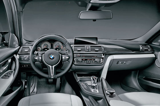 BMW M3 Limousine Cockpit