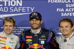 �berraschung in Abu Dhabi: Webber schl�gt Vettel
