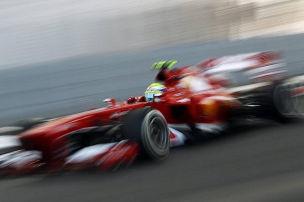 Ferrari entt�uscht: Traktion schlecht, Massa vor Alonso
