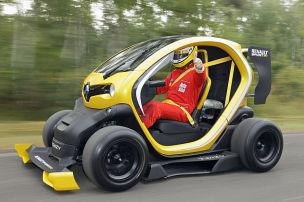So fährt der Formel-1-Twizy