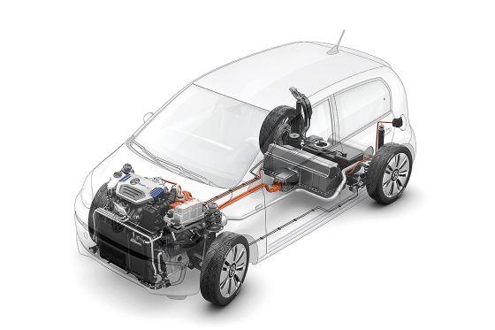 VW Twin-Up Röntgenzeichnung