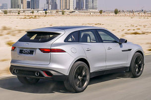 Wüstentrip im Jaguar-SUV