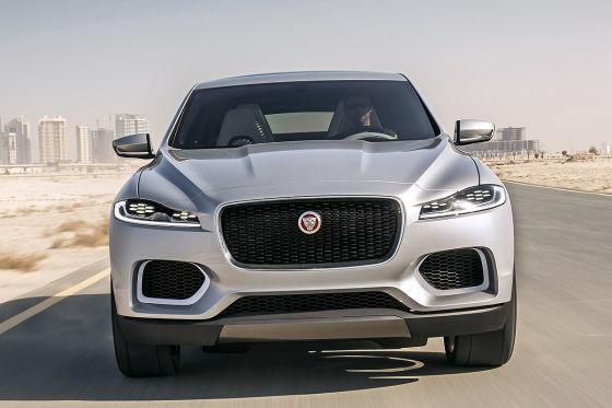Neue Eindrücke vom Jaguar-SUV