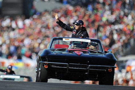 Vorfreude auf Texas: Sebastian Vettel genießt den American Way of Life