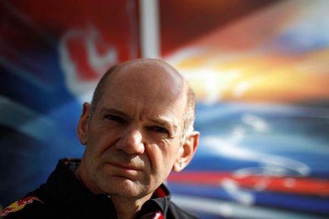 Adrian Newey gilt als einer der besten Designerfür Formel-1-Rennwagen