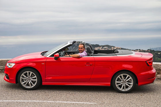 Audi A3 Cabrio Seite stehend