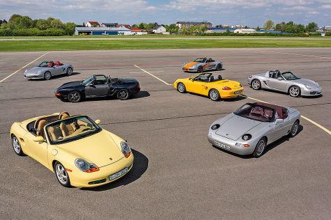 Porsche Boxster 986 987 Prototypen Und Sondermodelle Autobild De