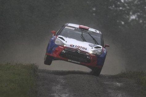 Nur Robert Kubica durfte vor der Rallye Großbritannien für Citroen testen