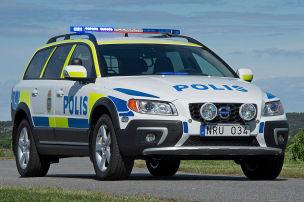 XC70 für die Polizei