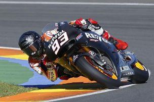 Marquez arbeitet beim Test in Valencia an mehr Konstanz