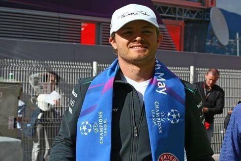 Nico Rosberg ist nicht nur Mercedes-, sondern auch Bayern-München-Fan