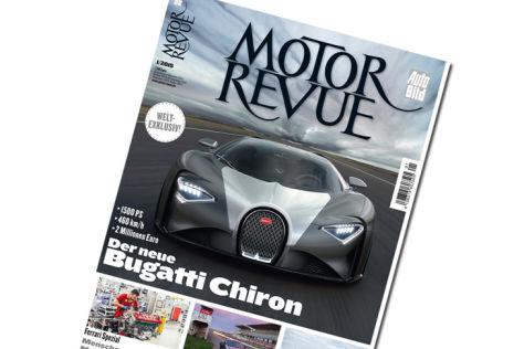 Titel MOTOR REVUE 1-2014