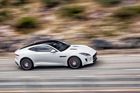 jaguar f-type coupé: tokyo motor show 2013 - autobild.de