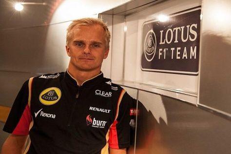 Große Chance zum Jahresende: Heikki Kovalainen fährt zwei Rennen im Lotus