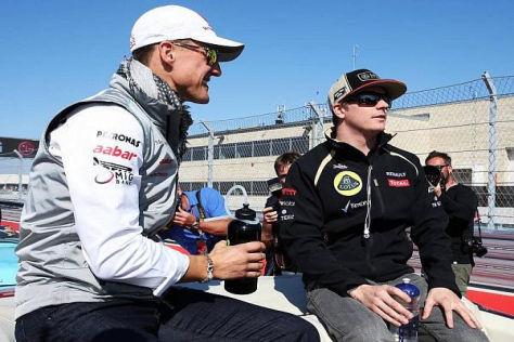 Michael Schumacher wird Kimi Räikkönen nicht für zwei Rennen ersetzen