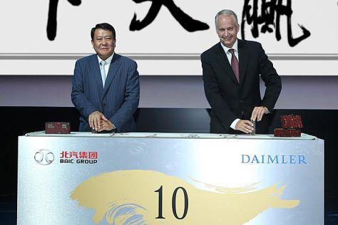 Daimler steigt bei BAIC ein