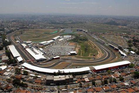 Das Autodromo Jose Carlos Pace gilt als Garant für spannende Rennen