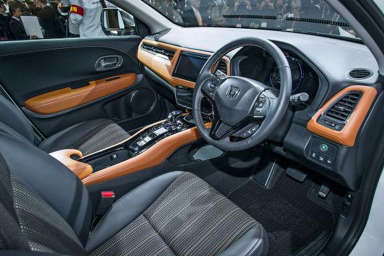 Honda Vezel Hybrid Sitzprobe