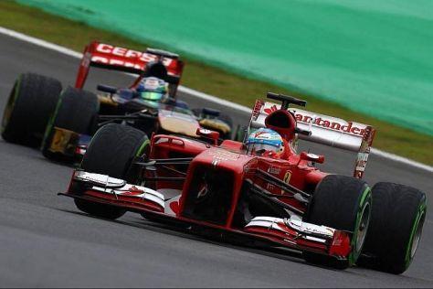 Fernando Alonso hatte gegen die Red Bull einmal mehr das Nachsehen