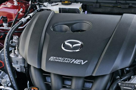 Mazda3 Hybrid: Skyactive Motor