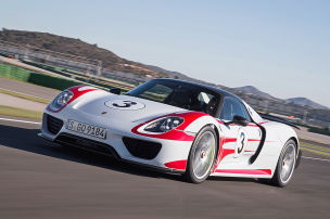 Erste Ausfahrt im Öko-Porsche